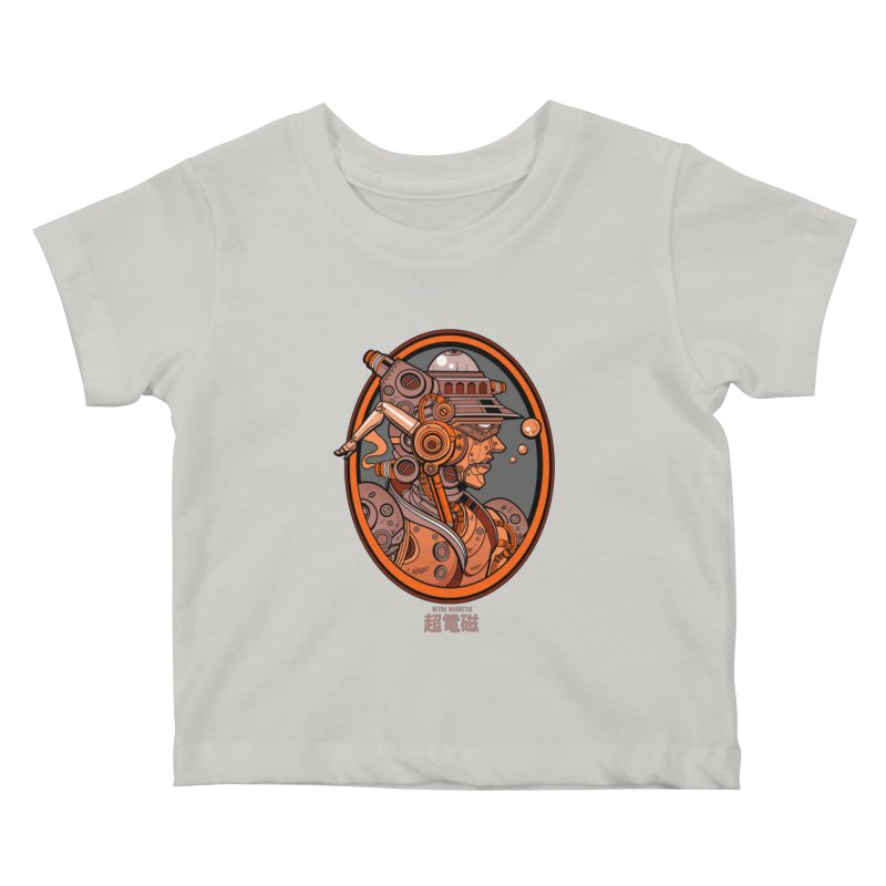 Ultra Magnetic Cameo Kids Baby T-Shirt by Jesse Philips' Artist Shop