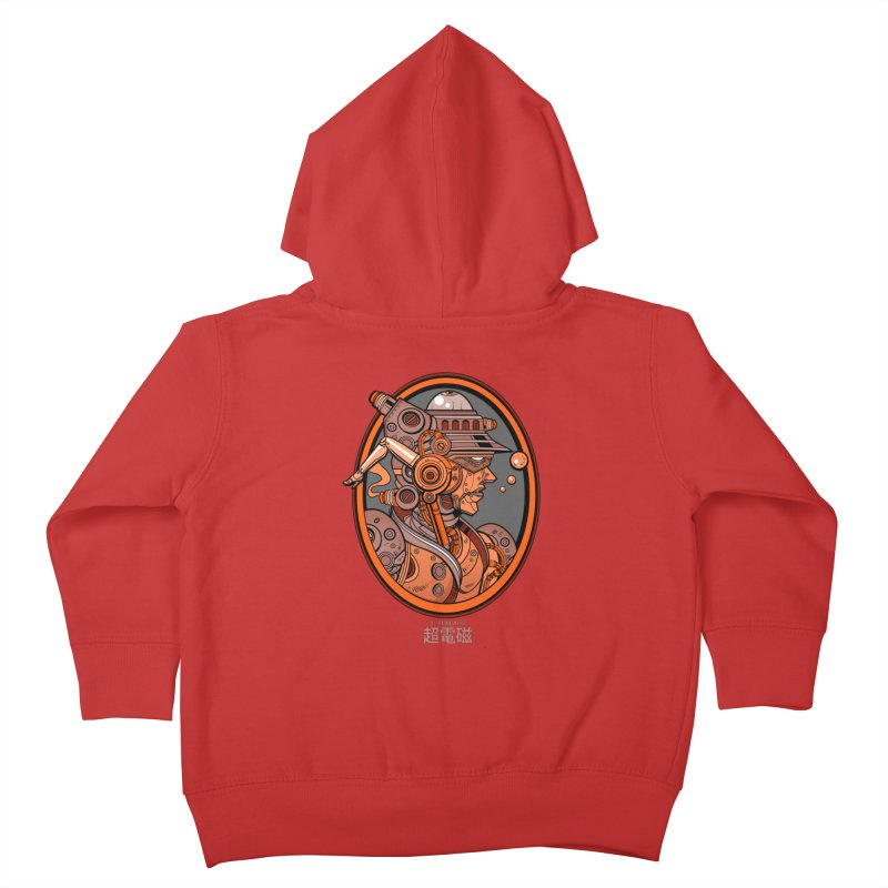 Ultra Magnetic Cameo Kids Toddler Zip-Up Hoody by Jesse Philips' Artist Shop