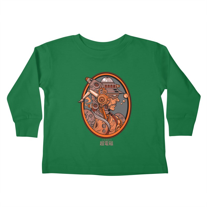 Ultra Magnetic Cameo Kids Toddler Longsleeve T-Shirt by Jesse Philips' Artist Shop