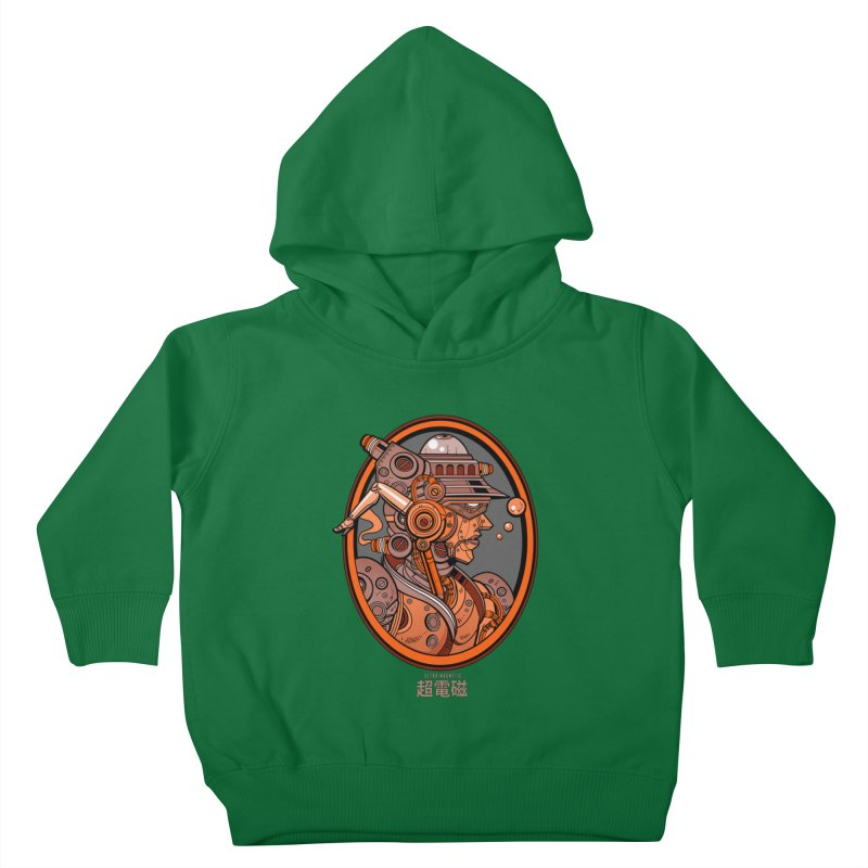 Ultra Magnetic Cameo Kids Toddler Pullover Hoody by Jesse Philips' Artist Shop