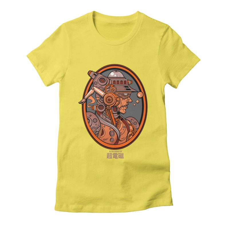 Ultra Magnetic Cameo Women's Fitted T-Shirt by Jesse Philips' Artist Shop