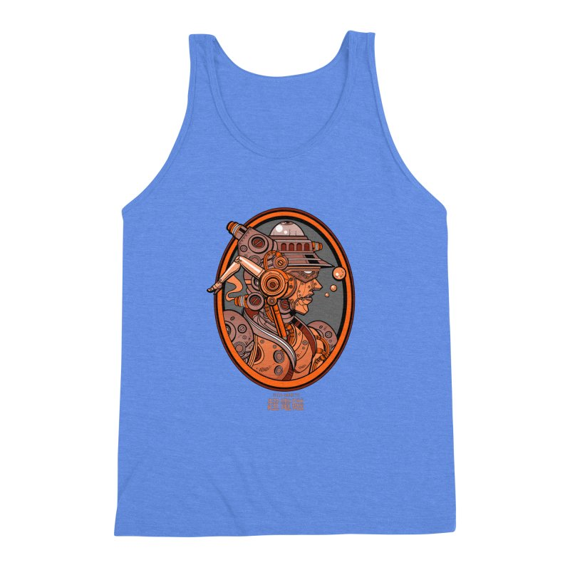Ultra Magnetic Cameo Men's Triblend Tank by Jesse Philips' Artist Shop
