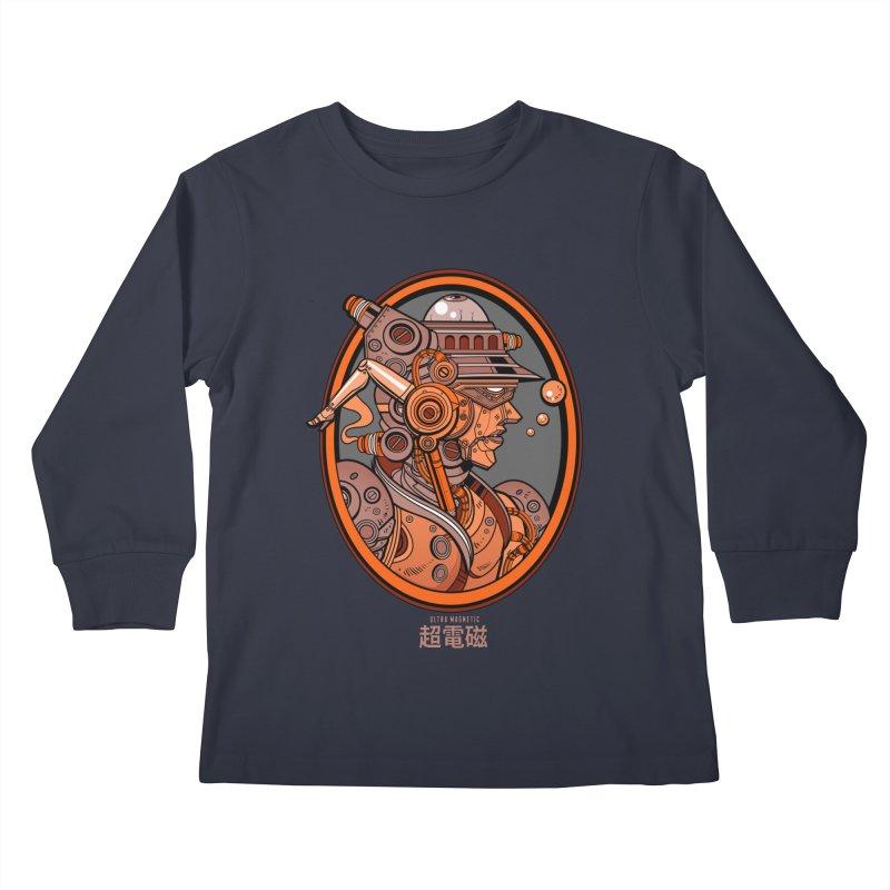 Ultra Magnetic Cameo Kids Longsleeve T-Shirt by Jesse Philips' Artist Shop