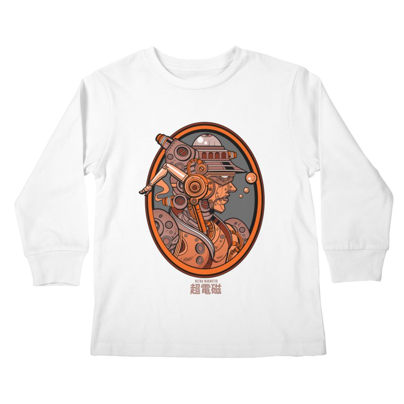 Ultra Magnetic Cameo Kids Longsleeve T-Shirt by Jesse Philips' Artist Shop
