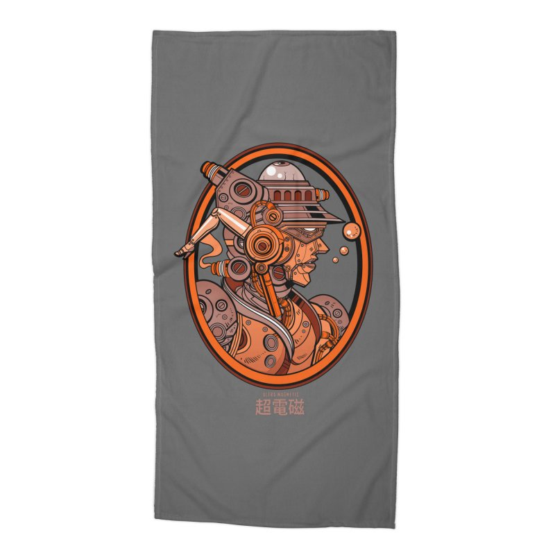 Ultra Magnetic Cameo Accessories Beach Towel by Jesse Philips' Artist Shop