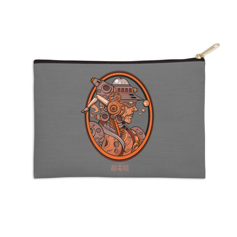 Ultra Magnetic Cameo Accessories Zip Pouch by Jesse Philips' Artist Shop