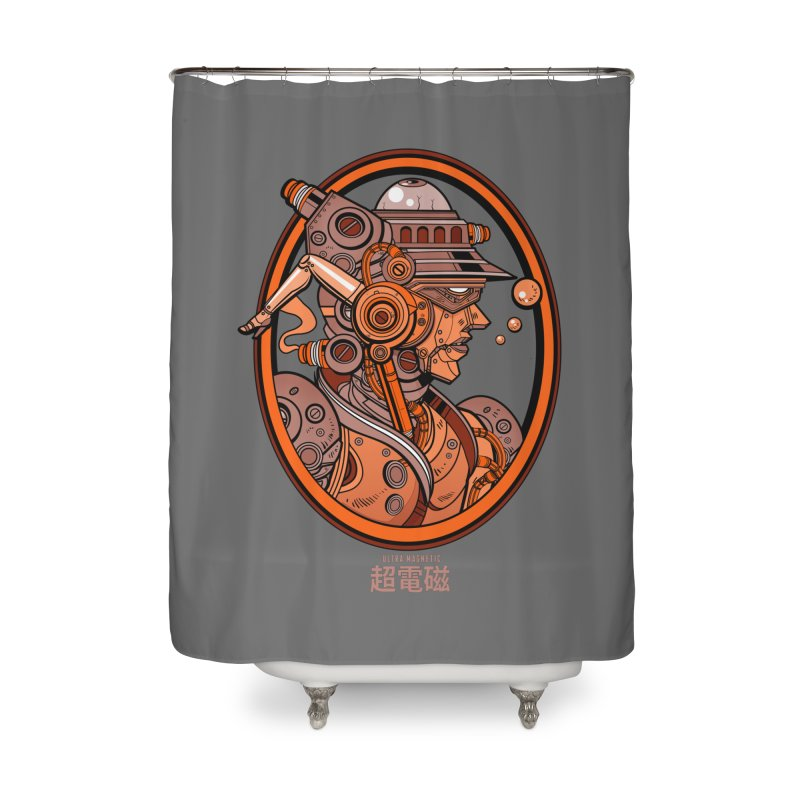 Ultra Magnetic Cameo Home Shower Curtain by Jesse Philips' Artist Shop