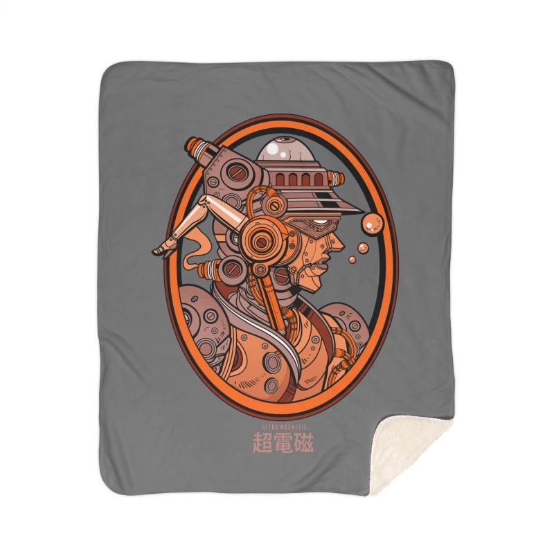 Ultra Magnetic Cameo Home Sherpa Blanket Blanket by Jesse Philips' Artist Shop