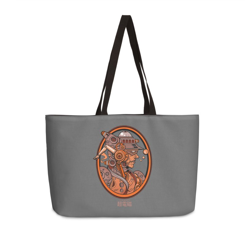 Ultra Magnetic Cameo Accessories Weekender Bag Bag by Jesse Philips' Artist Shop