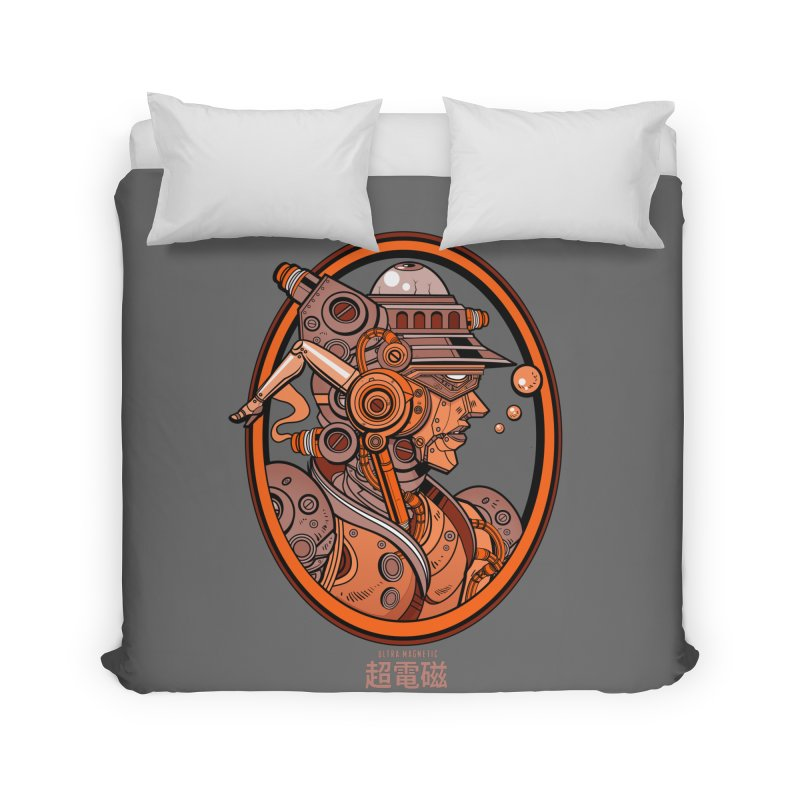 Ultra Magnetic Cameo Home Duvet by Jesse Philips' Artist Shop