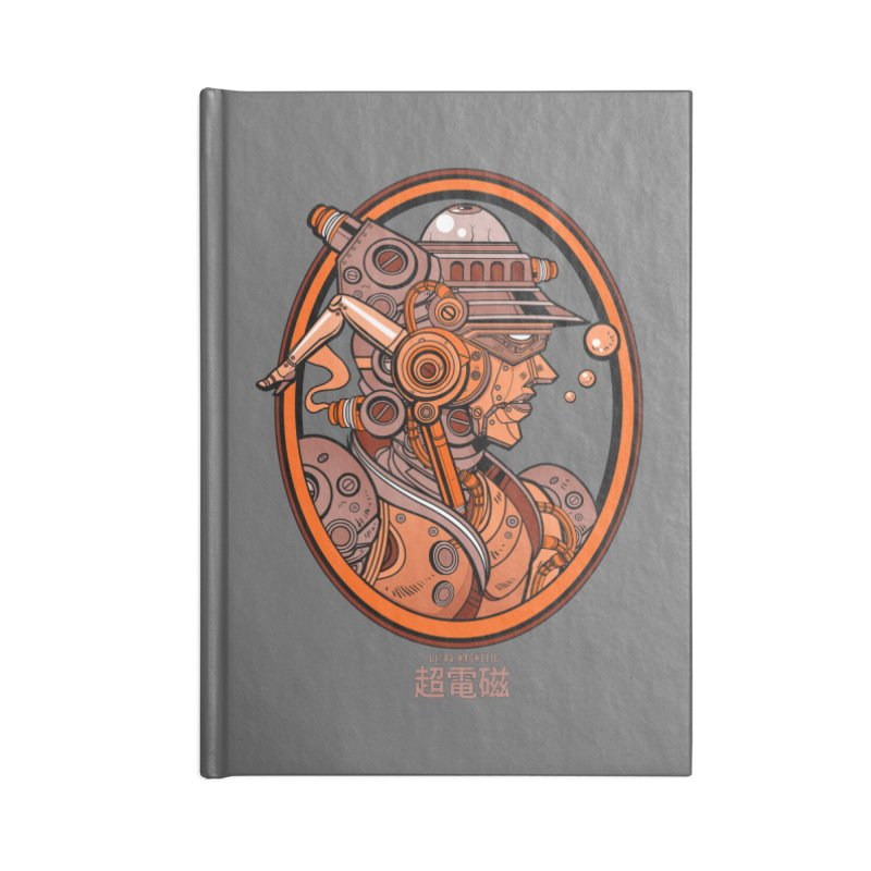 Ultra Magnetic Cameo Accessories Lined Journal Notebook by Jesse Philips' Artist Shop