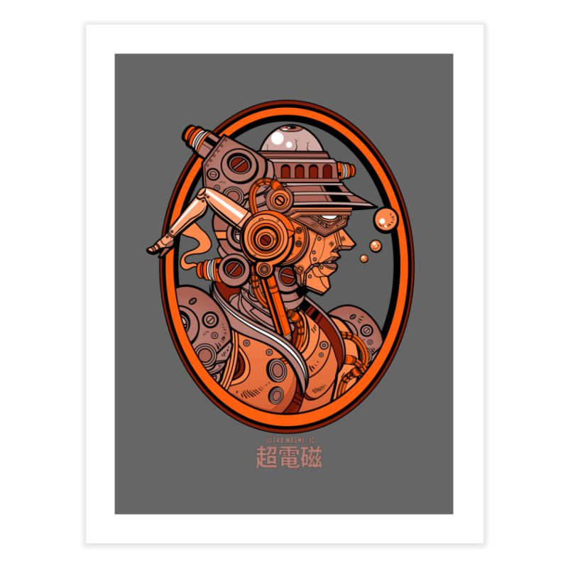 Ultra Magnetic Cameo Home Fine Art Print by Jesse Philips' Artist Shop