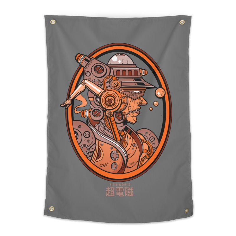 Ultra Magnetic Cameo Home Tapestry by Jesse Philips' Artist Shop