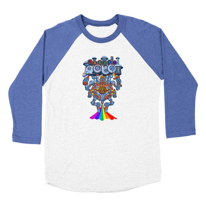 Rainbow Robo Men's Longsleeve T-Shirt by Jesse Philips' Artist Shop
