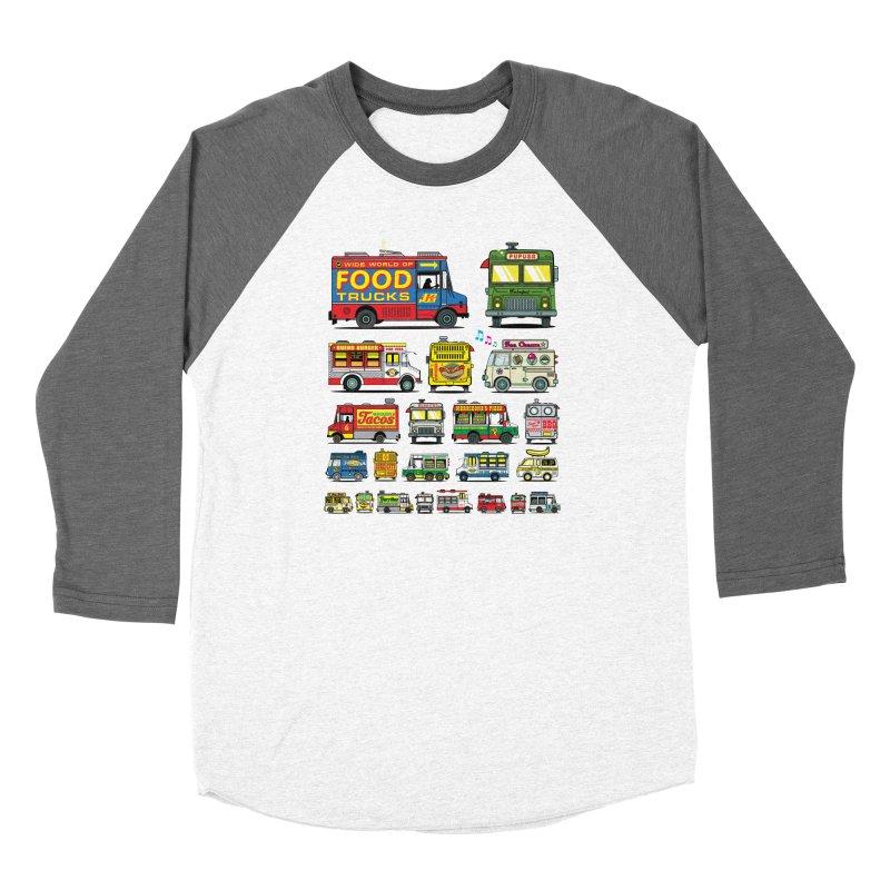 Food Truck Women's Longsleeve T-Shirt by Jesse Philips' Artist Shop