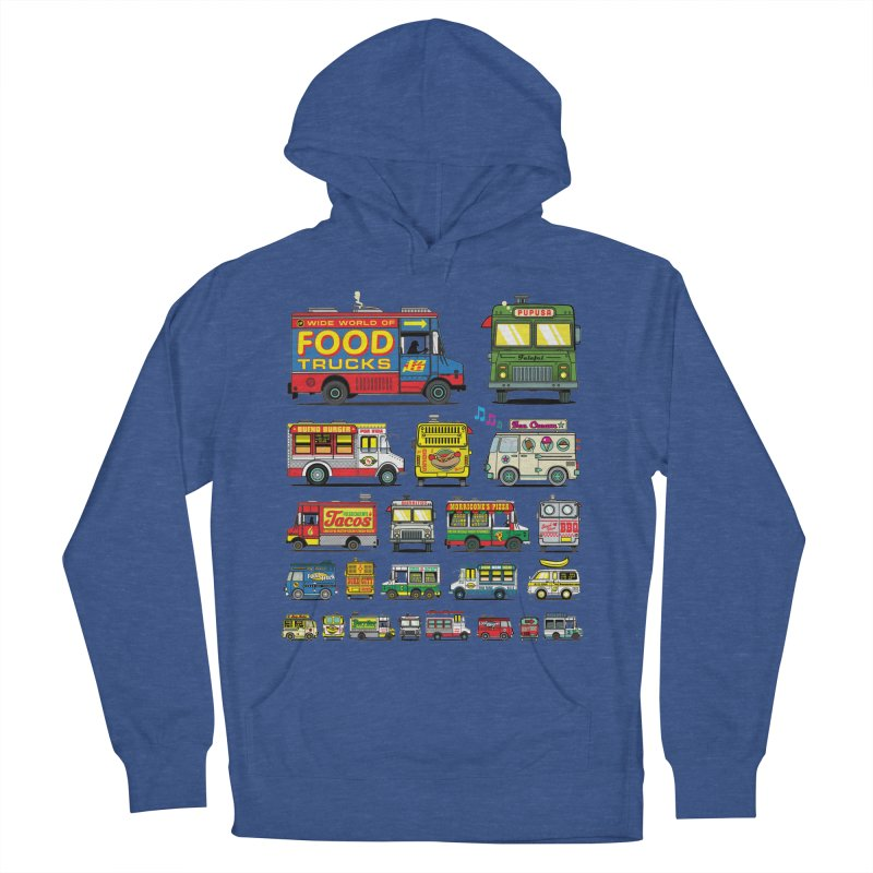 Food Truck Men's Pullover Hoody by Jesse Philips' Artist Shop