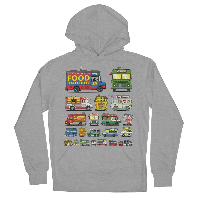 Food Truck Men's French Terry Pullover Hoody by Jesse Philips' Artist Shop