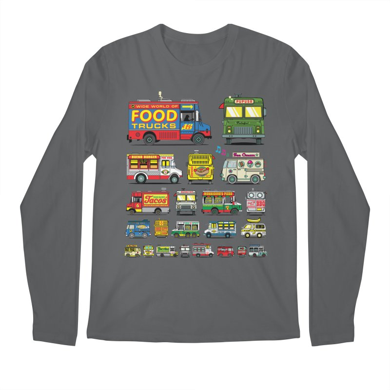 Food Truck Men's Longsleeve T-Shirt by Jesse Philips' Artist Shop