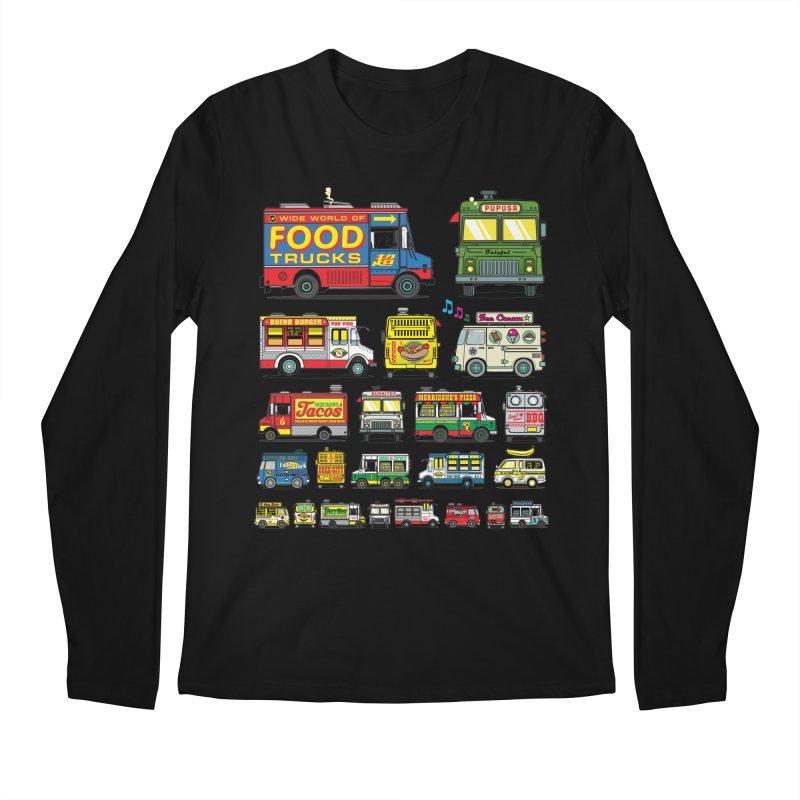 Food Truck Men's Regular Longsleeve T-Shirt by Jesse Philips' Artist Shop