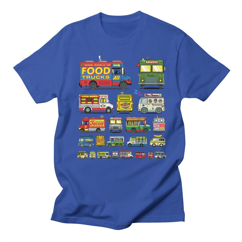 Food Truck Men's T-Shirt by Jesse Philips' Artist Shop