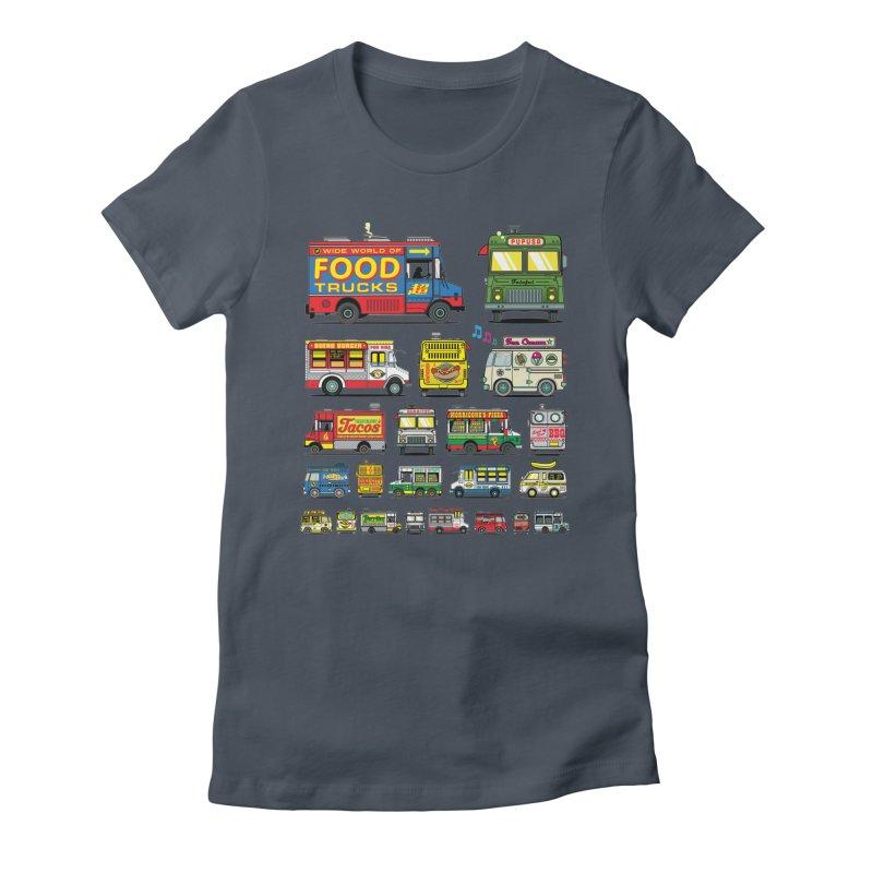 Food Truck Women's T-Shirt by Jesse Philips' Artist Shop