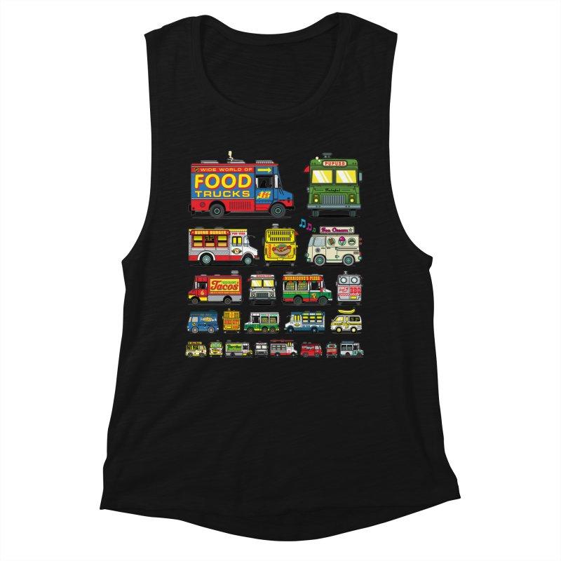 Food Truck Women's Tank by Jesse Philips' Artist Shop