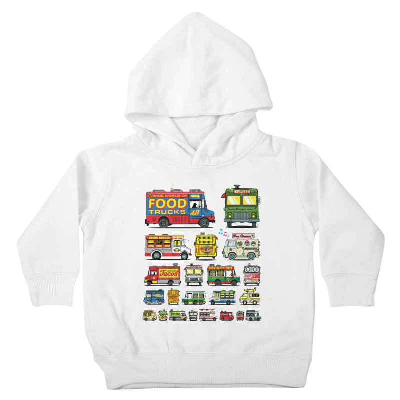 Food Truck Kids Toddler Pullover Hoody by Jesse Philips' Artist Shop