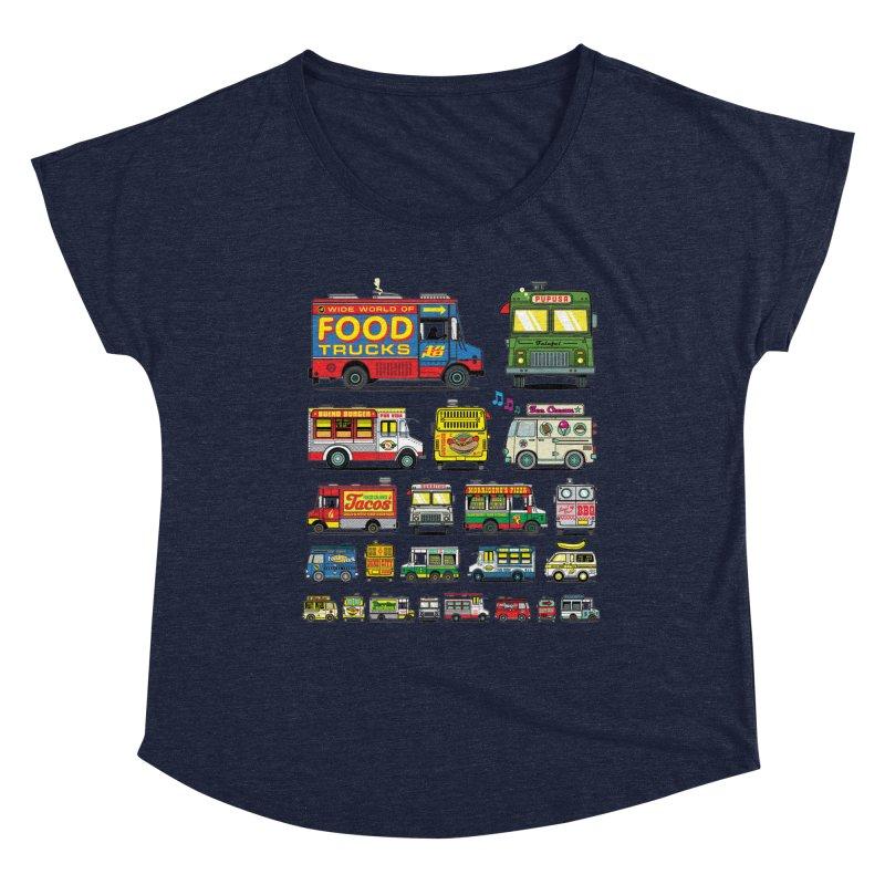 Food Truck Women's Dolman Scoop Neck by Jesse Philips' Artist Shop