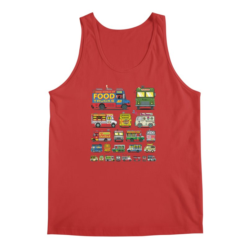 Food Truck Men's Regular Tank by Jesse Philips' Artist Shop