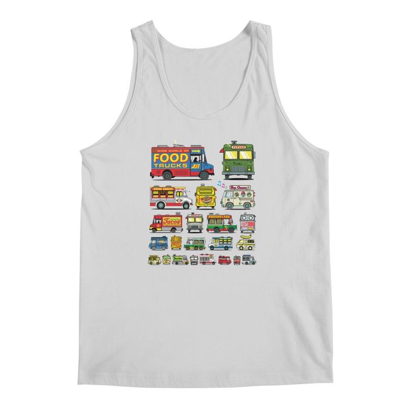 Food Truck Men's Tank by Jesse Philips' Artist Shop