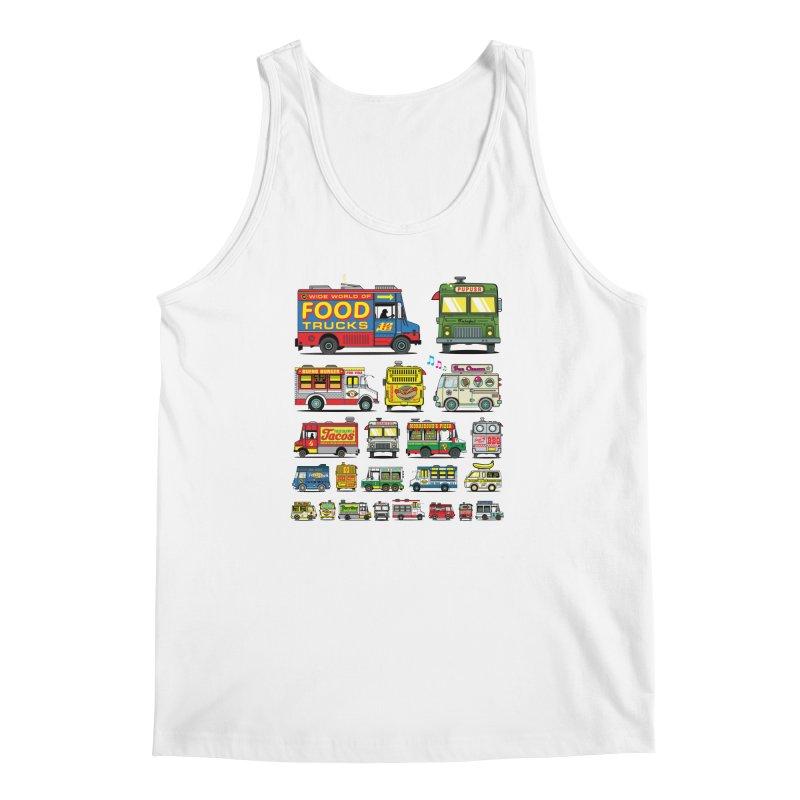 Food Truck Men's Regular Tank by Jesse Philips' Artist Shop