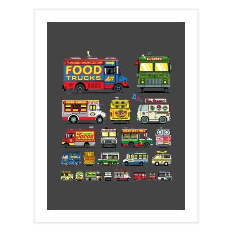 Food Truck Home Fine Art Print by Jesse Philips' Artist Shop