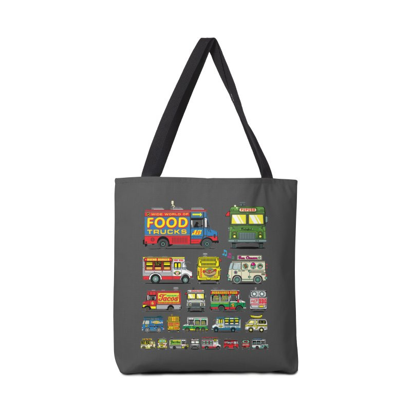 Food Truck Accessories Tote Bag Bag by Jesse Philips' Artist Shop