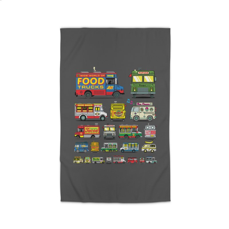 Food Truck Home Rug by Jesse Philips' Artist Shop