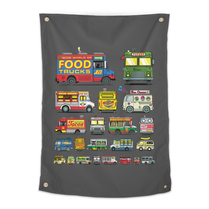 Food Truck Home Tapestry by Jesse Philips' Artist Shop