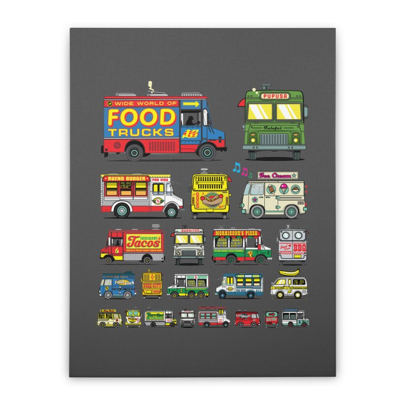 Food Truck Home Stretched Canvas by Jesse Philips' Artist Shop