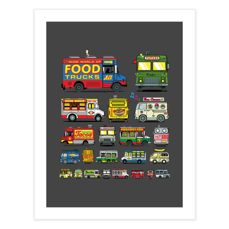 Food Truck   by Jesse Philips' Artist Shop