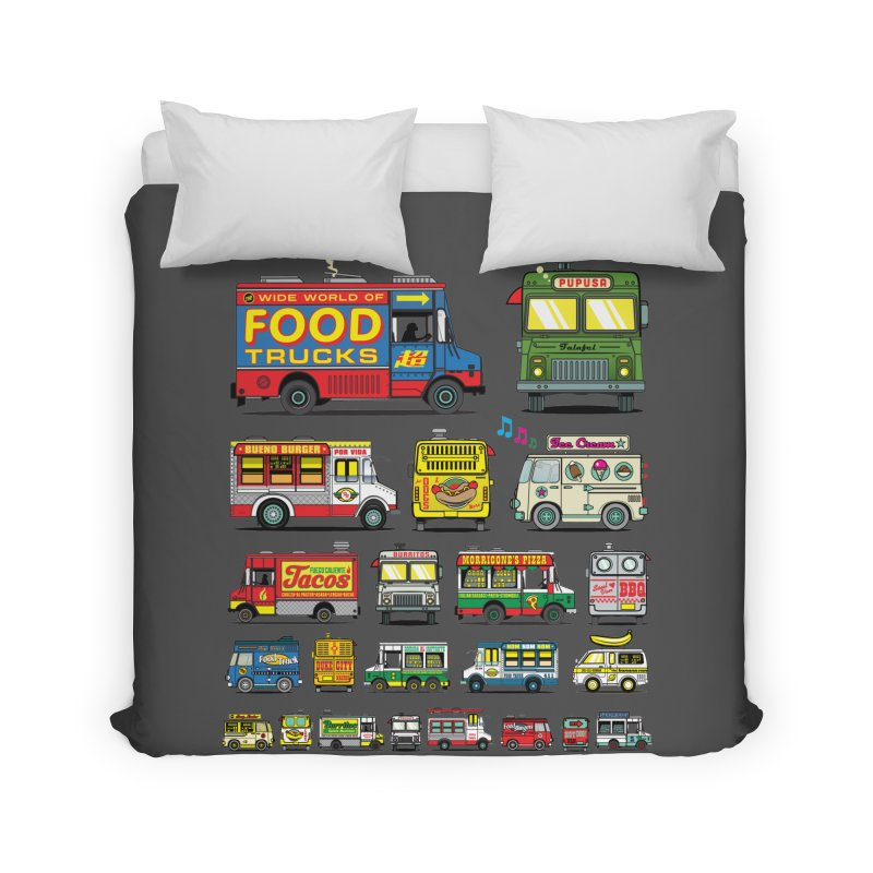 Food Truck Home Duvet by Jesse Philips' Artist Shop
