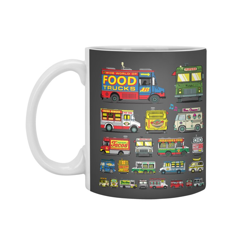 Food Truck Accessories Standard Mug by Jesse Philips' Artist Shop