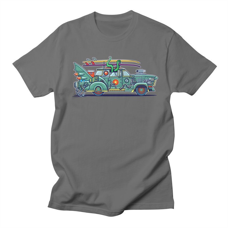 Surf's Up Men's T-Shirt by Jesse Philips' Artist Shop