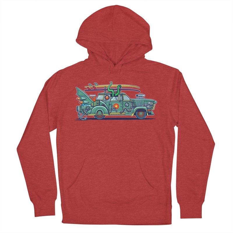 Surf's Up Women's Pullover Hoody by Jesse Philips' Artist Shop