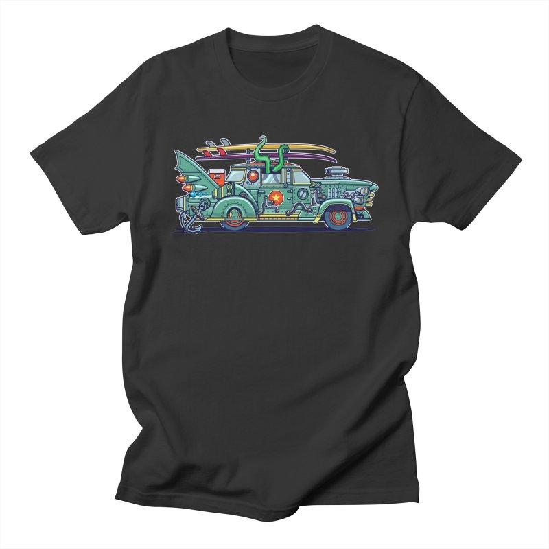Surf's Up Men's T-Shirt by Jesse Philips' Artist Shop
