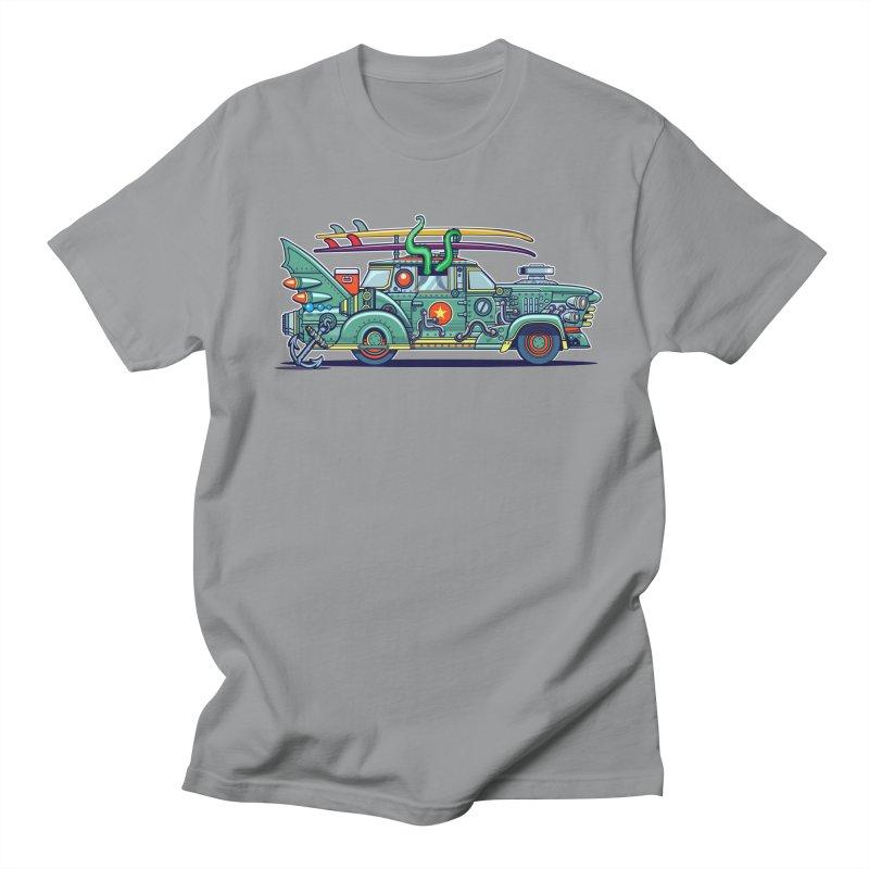 Surf's Up Men's Regular T-Shirt by Jesse Philips' Artist Shop