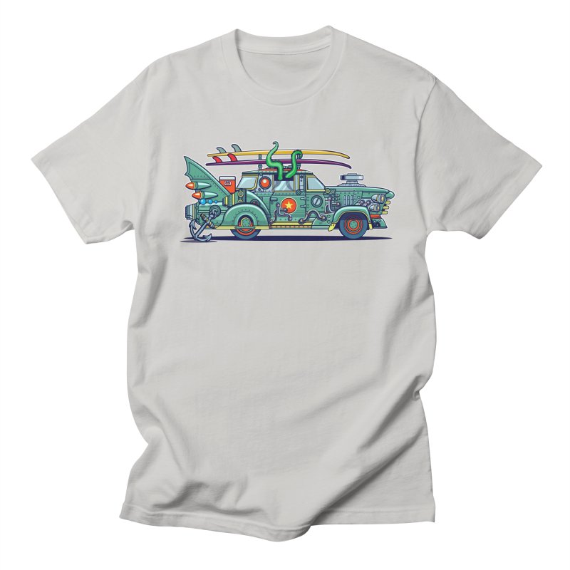 Surf's Up Men's Regular T-Shirt by Jesse Philips' Artist Shop