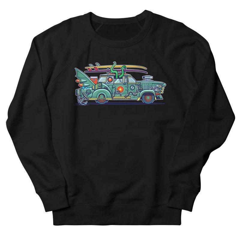 Surf's Up Men's Sweatshirt by Jesse Philips' Artist Shop