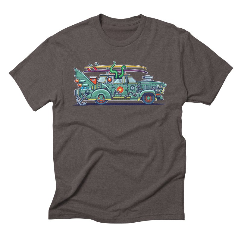 Surf's Up Men's Triblend T-Shirt by Jesse Philips' Artist Shop
