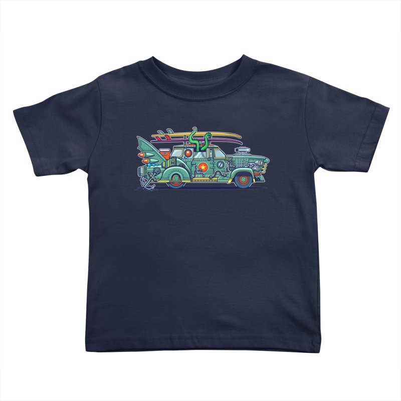 Surf's Up Kids Toddler T-Shirt by Jesse Philips' Artist Shop