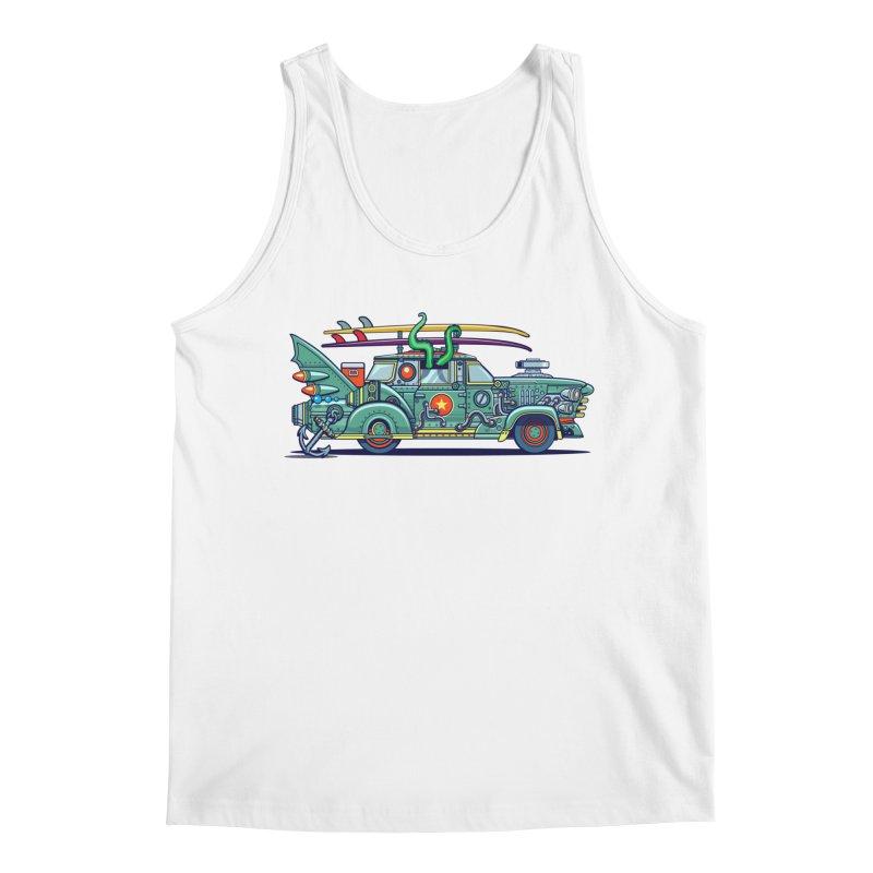 Surf's Up Men's Tank by Jesse Philips' Artist Shop