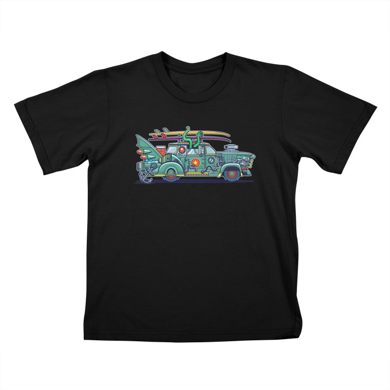 Surf's Up Kids T-Shirt by Jesse Philips' Artist Shop