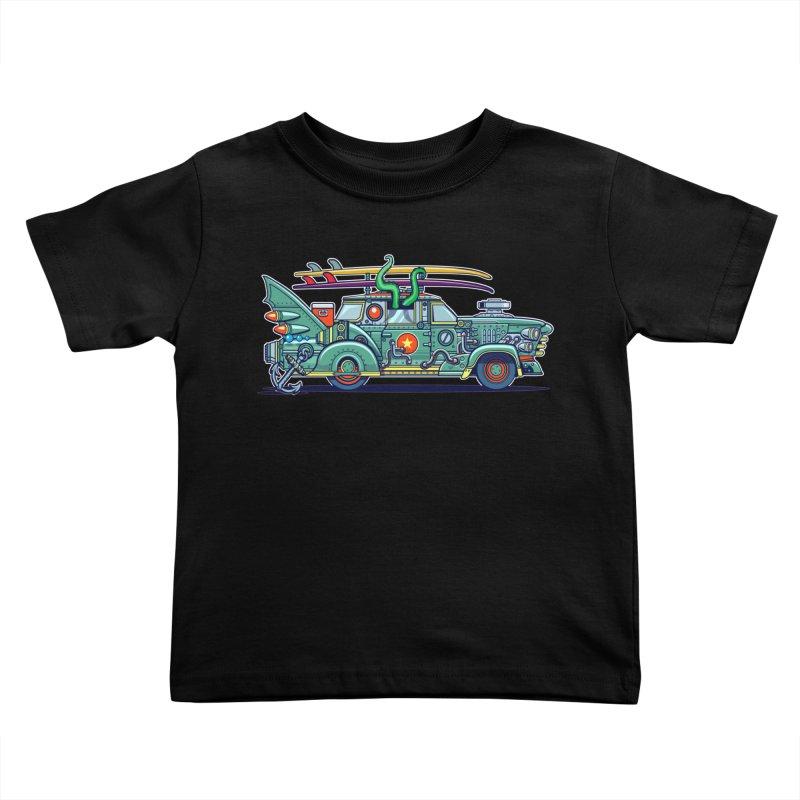 Surf's Up Kids Toddler T-Shirt by Jesse Philips' Artist Shop